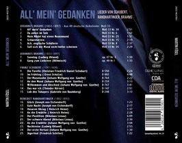 """CD """"All' mein' Gedanken"""""""