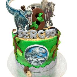 "Tarta ""Jurassic world"""
