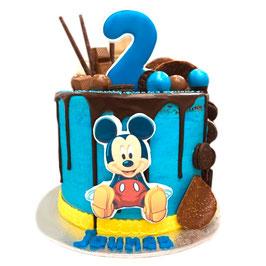 "Tarta ""Mickey"" azul"