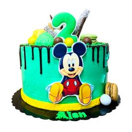 "Tarta ""Mickey verde"""