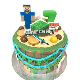 """Tarta """"Minecraft"""""""