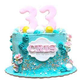 "Tarta ""layer cake "" confeti"