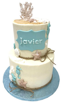 """Tarta """"layer cake maritima"""""""