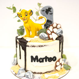 "Tarta ""Simba"" Rey León"