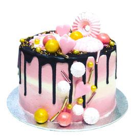 """Tarta """"layer cake corazones"""""""
