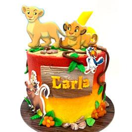 """Tarta """"Simba y Nala"""""""