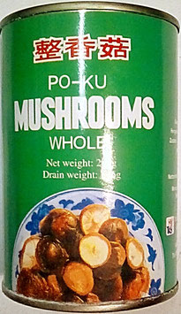 Art. 1328 Po-Ku Shiitake Pilze Lotus Brand ganz in Lake 284g...
