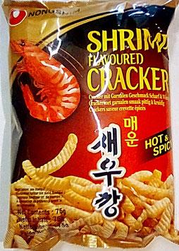 Art.2223 Nongshim Shrimp Cracker scharf und würzig 75g...