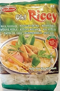 Art. 1231 Oh ! Ricey Acecock Reisbandnudeln Banh Pho 500g...