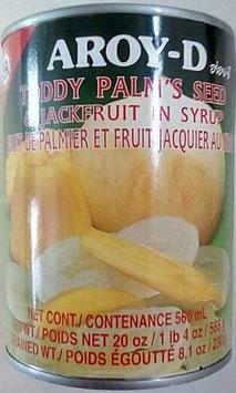 Art. 1383 Palmsamen und Jackfrucht in Sirup Aroy-D 565g...