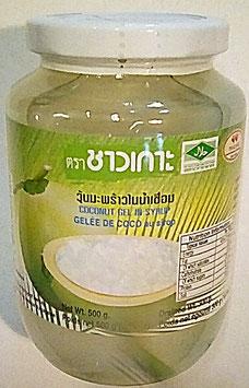 Art. 2228 Kokosgelee - Würfel in Sirup Chao Koh 500g...
