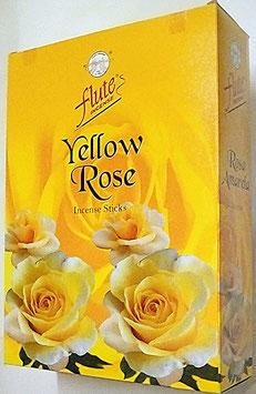 Art. 2541 Flute Räucherstäbchen,Gelbe Rose 12 Packungen x 20 Stk...