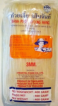 Art. 1223 Reisnudeln Banh Pho Farmer 3mm 400g...