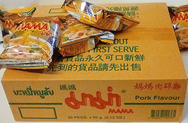 Art. 1263 Instantnudeln Schwein MAMA 1 Karton ( 30 Packungen x 60g)
