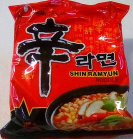 Art. 1276  Nong Shim Instantnudeln Südkorea , Nhon Ramyun scharf 120g ...