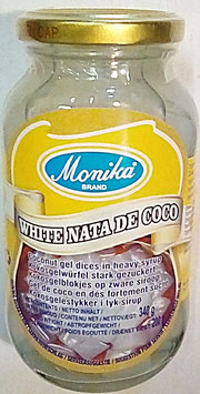 Art. 2231 Kokosgel- Würfel Nata de Coco Monika 340g...