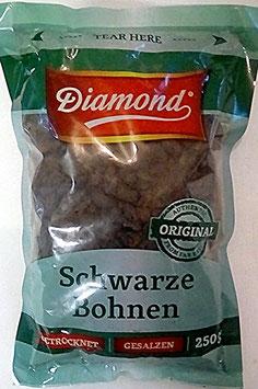 Art. 1734 Diamond Schwarze Bohnen , fermentiert und gesalzen 250g...