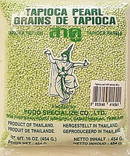 Art. 2257 Tapiokaperlen mit Pandangeschmack Thai Dance 454g...