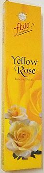 """Art. 2540 Flute Räucherstäbchen, Gelbe Rose 1 Packung """" 20Stk. """"..."""