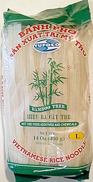 Art. 1227 Reisnudeln Banh Pho Bamboo Tree L ( 5mm) 400g...