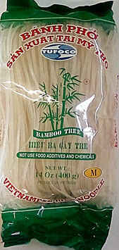 Art. 1226 Reisnudeln Banh Pho Bamboo Tree M (3mm) 400g...
