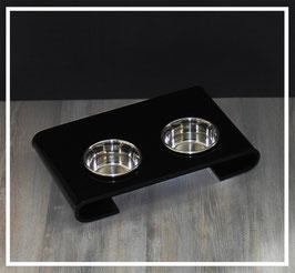 Futterbar Acrylglas Schwarz