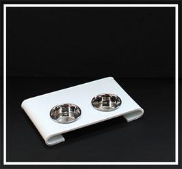Futterbar Acrylglas Weiß