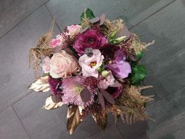 Bouquet rond festif