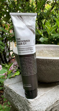 The Groomed Man Co. Activated Charcoal & Bamboo Body Scrub (Körperpeeling)