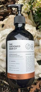 The Groomed Man Co. Citrus Blast Body Moisturiser