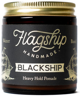 Flagship Pomade Black Ship Water Based Pomade