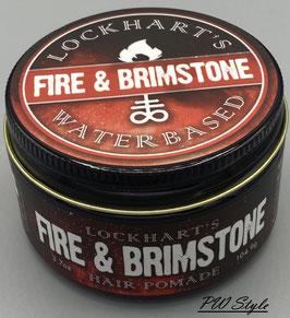 Lockhart's Fire & Brimstone Water Based Pomade