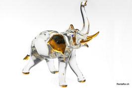 Elefant mit Gold XL