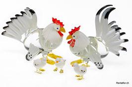 Hühner Familie