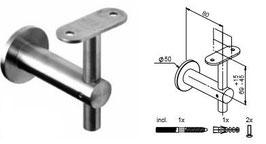 Wandhandlaufträger HLTW-1108 flach