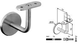 Wandhandlaufträger HLTW-1068 flach