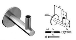 Wandhandlaufträger HLTW-1088 flach