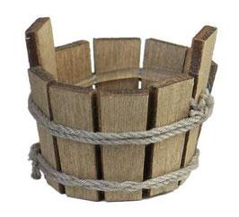 Wichtel Zubehör Holz Bottich