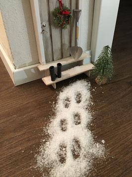 """Wichtel Türe Zubehör """" Schnee"""""""