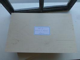 Holzschild No 5
