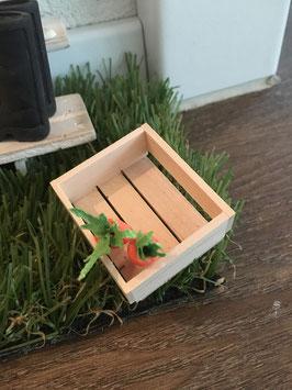 """Wichtel Türe Zubehör """" Holz Kiste"""""""