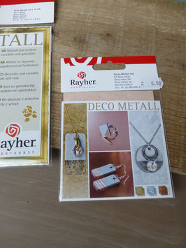 Blatt Gold / Silber