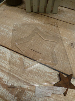 Giessform Stern 15cm Glorex