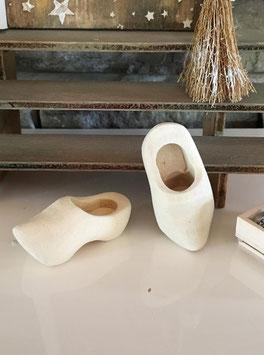 Wichtel Türe Zubehör  Holz Schuhe