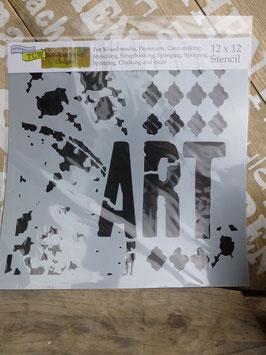 Schablone ART