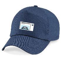 Cappello con Visiera Blu