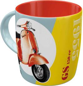 Taça mug. VESPA.  330 ml.  Nostalgic-Art