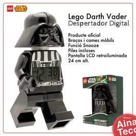 Rellotge Despertador LEGO DARTH VADER