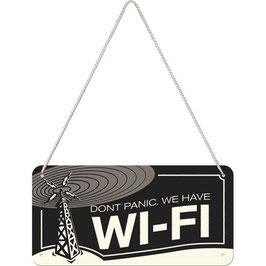 Placa Penjar. WI-Fi. 10x20 cm  Nostalgic-Art