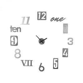 Rellotge ADHESIU de paret NUMBRA, by Umbra